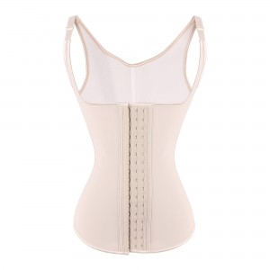 Nude 5 Steel Bone Over Shoulder Latex Trainer Corset