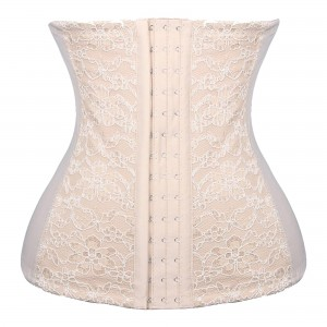 White Wedding Corset