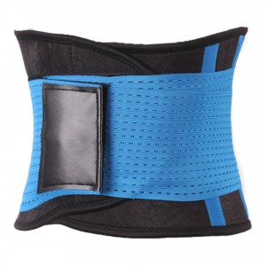 Blue Sports Belt Waist Trimmer Corset