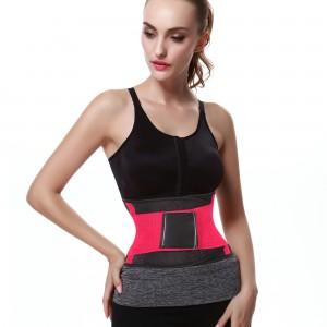Red Sports Belt Waist Trimmer Corset