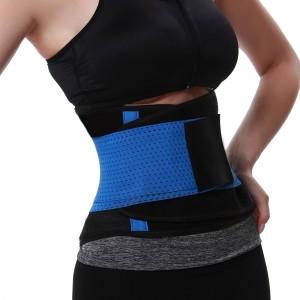 Blue Sports Belt Waist Trimmer Corset