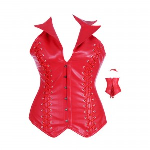 The Red Mistress Corset