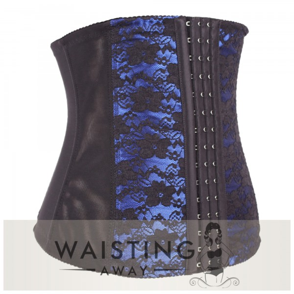 Blue 7 Steel Bone Honeymoon Corset Corset