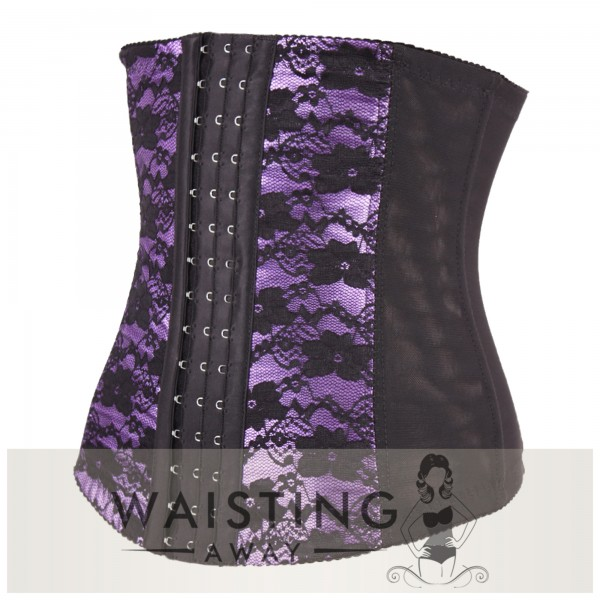 Purple 7 Steel Bone Honeymoon Corset Corset