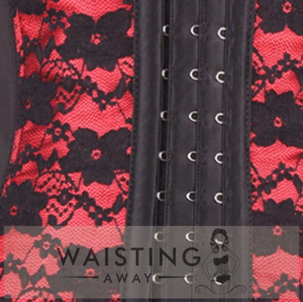 Red 7 Steel Bone Honeymoon Corset Corset
