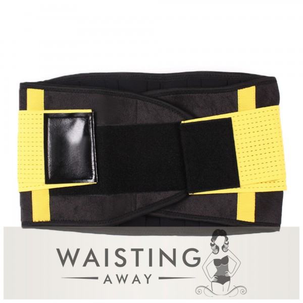 Yellow Sports Belt Waist Trimmer Corset Corset