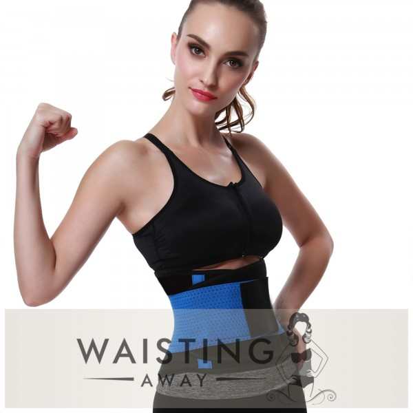 Blue Sports Belt Waist Trimmer Corset Corset