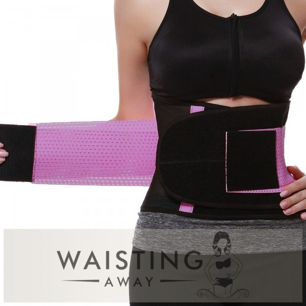 Purple Sports Belt Waist Trimmer Corset Corset