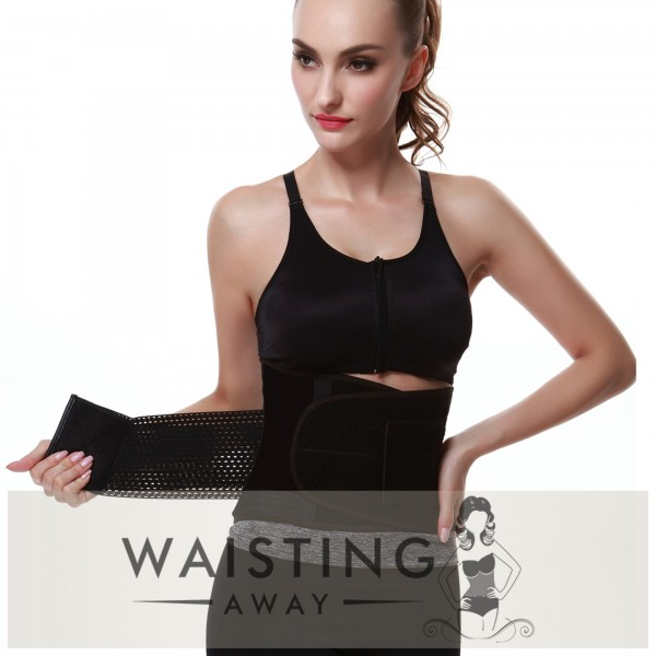 Black Sports Belt Waist Trimmer Corset Corset