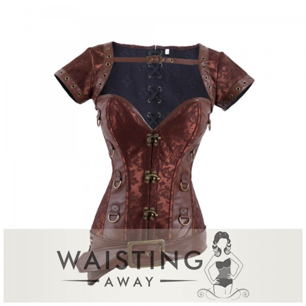 Brown Hook Maeve Corset